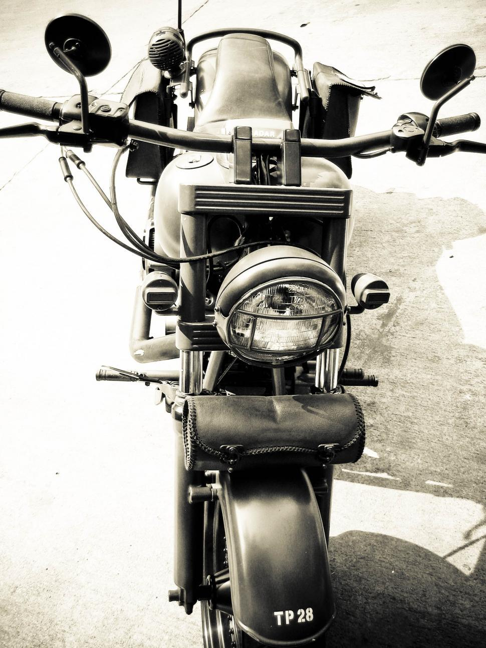 Download Free Stock HD Photo of old harley davidson Online