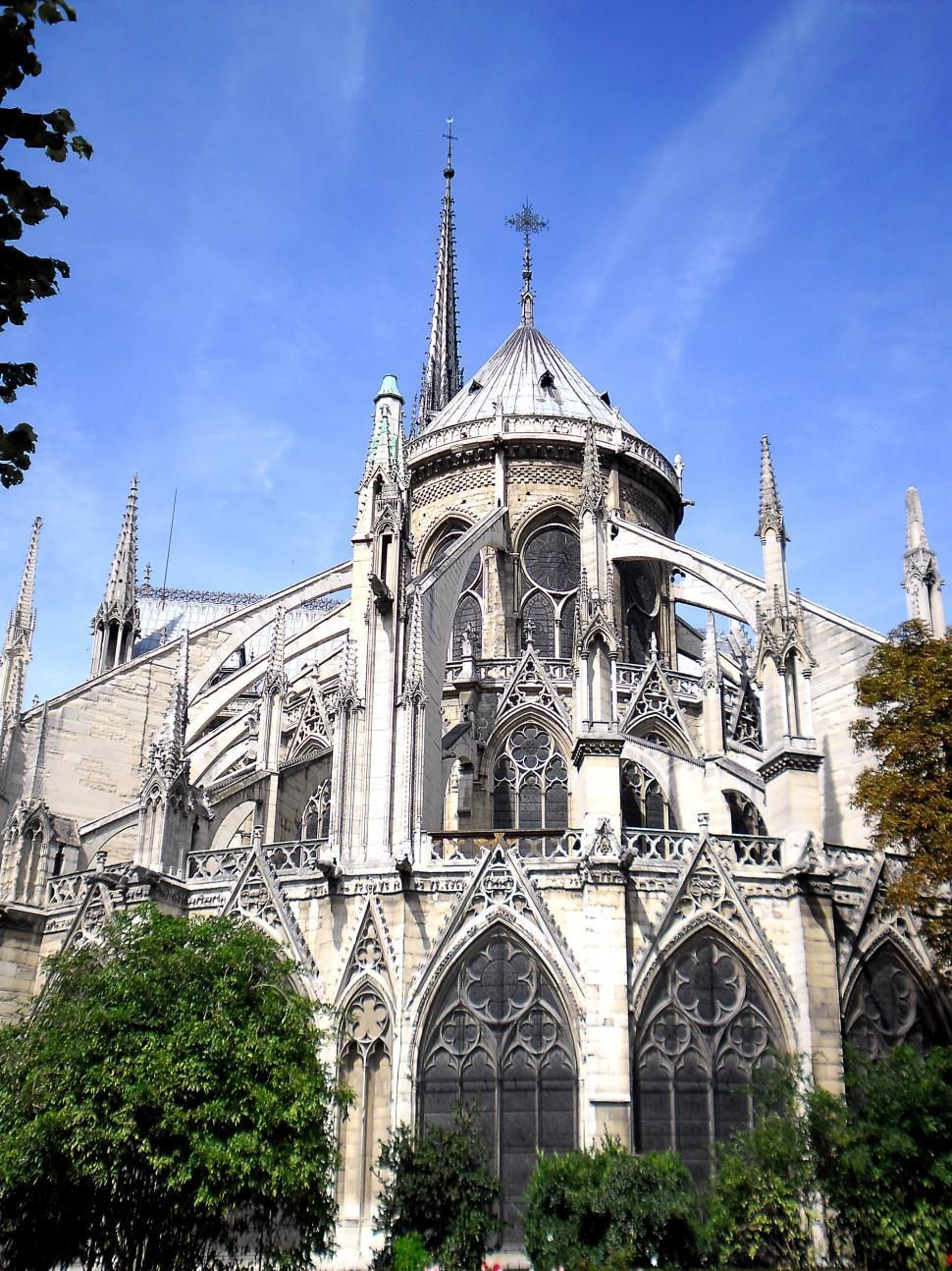 Download Free Stock HD Photo of Cathedral of Notre Dame de Paris Online